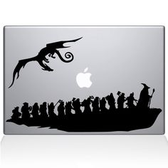 Find the The Hobbit Macbook decal at the Decal Guru online store.