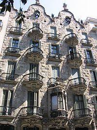 Barcelona,Casa Calvet,Gaudí