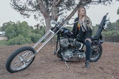 It is pretty hard to overlook Megan Margeson at our own events! She usually progresses within her mom, both of them on huge cool choppers. She has even won a couple regarding awards for her bicycle at our events more than the years. Megan arises from a true motorcycle loved ones and we have to catch up with her to listen to more abou #harleydavidsoncustomdeluxe #harleydavidsoncustomdyna #harleydavidsoncustomchopper #harleydavidsoncustomsportster #harleydavidsoncustomsoftail… Harley Davidson Panhead, Classic Harley Davidson, Harley Bobber, Chopper Motorcycle, Motorcycle Style, Old School Chopper, Old School Vans, Custom Choppers, Custom Bobber