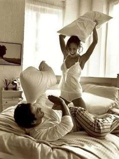 When we had a #pillow #fight...