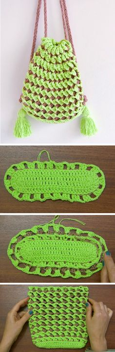 How to Crochet a Bac