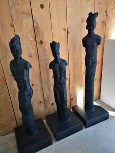 Triptique Sculpture, Gravure, Bookends, Home Decor, Rennes, Radiation Exposure, Atelier, Drawing Drawing, Decoration Home