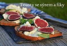 TynaTyna: Toasty se sýrem a fíky