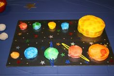 Solar System Yummies! Love this idea for an Astronomy End of the Year Party!