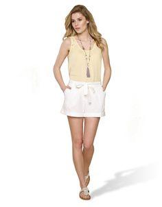 Millie Chambray Shorts