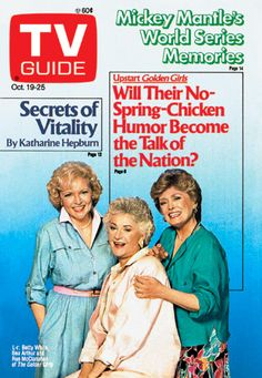 tv guide covers - Golden Girls