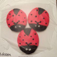 Adorable Ladybug cookies!