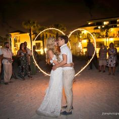 Located on one of the top beaches in the U.S. to receive TripAdvisor's Travelers Choice Award. #CelebratetheExperience #wedding #portraits #couple #love #beach #venue #photography #photographer #heart #photos