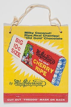 Oldie but a Goldie! The MacRobertson 'Cherry Ripe' Showbag