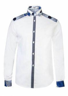 African Print Men's dress shirt with a BLACK swagg brand . African Print Shirt, African Shirts, African Print Dresses, African Fashion Dresses, African Dress, Ghanaian Fashion, African Attire, African Wear, African Women