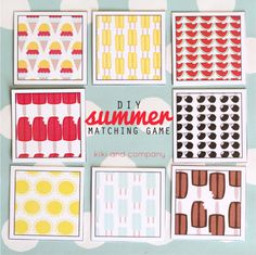 DIY Summer Matching