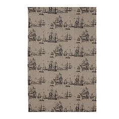 Benzy Skepp fabric from Ikea