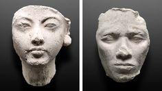 Im Licht Von Amarna Bust Of Nefertiti Agyptisches Museum Buste Der Nofretete Nofretete