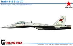 Sukhoi, Modern Drawing, Warsaw Pact, Pre Production, Aircraft Design, Military Vehicles, Wwii, Fighter Jets, Russia