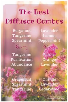 You'll love these pairings of essential oils.