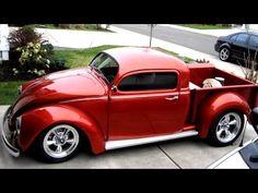 Volkswagen VW Beetle Bug Pickup Build and Beetle Pickup compilation - YouTube