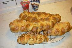 Rychlé nekynuté pletýnky Bread, Food, Brot, Essen, Baking, Meals, Breads, Buns, Yemek