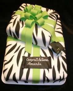 "Fondant Cakes - Creative Cakes ""Custom cakes for any occasion"" - another birthday cake possibility - minus the grad cap"