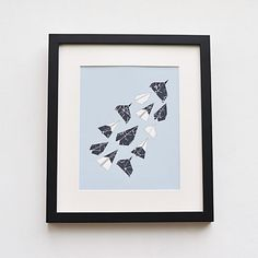 Aerodynamic  Origami Paper Planes Constellation Art by milatree, $30.00