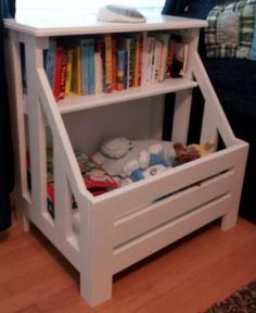 Top 25 Most Genius DIY Kids Room Storage Ideas That Every Parent Must Know Anna White Plan: scontent-b-iad. Diy Kids Room, Diy For Kids, Kids Rooms, Diy Pallet Projects, Home Projects, Pallet Crafts, Pallet Ideas, Pallet Furniture, Furniture Projects