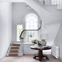 Discover staircase design ideas on HOUSE - design, food and travel by House & Garden Winding Staircase, Open Staircase, Staircase Design, Staircase Ideas, Hallway Inspiration, English Country Decor, Interior And Exterior, Interior Design, Georgian Homes