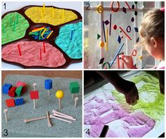 20+ colorful activities for preschoolers using high-quality wooden manipulatives incorporating speech therapy.