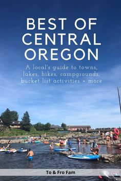 Epic Central Oregon travel guide: The best hikes, lakes, camping + more Oregon Travel, Usa Travel, Columbia River Gorge, Central Oregon, Best Hikes, Oregon Coast, Lakes, Family Travel, Travel Guide