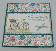 Stampin Up! Stamping T! - Never Ending Card