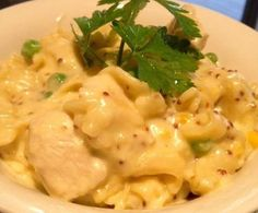 Chicken and Creamy Mustard Pasta by KrissyB on www.recipecommunity.com.au