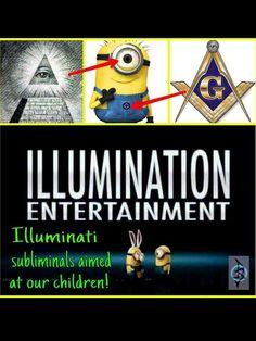 Illumination Entertainment- Illuminati subliminals aimed at our children