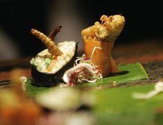 Sushi z insektami i innym robactwem :)   I LIKE IT!   Cototoje.pl