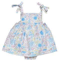 Baby Girls Summer Dress Nautical Anchor Boat Sleeveless NB 0-3-6 Lemon Navy 36
