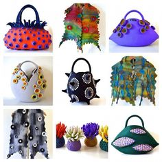 Amazing Felt Creations by Atsuko Sasaki DesignFashion + Trends