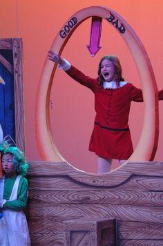 veruca Charlie Chocolate Factory, Wonka Chocolate Factory, Music Theater, Theatre, Willy Wonka Costume, High School Plays, Fun Activities, Play Ideas, Musicals