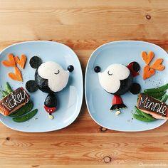 Mickey & Minnie. (Remake version) #leesamantha #Disney