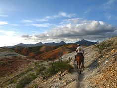 Horseback riding, Macanao Mountains, Margarita Island, Venezuela