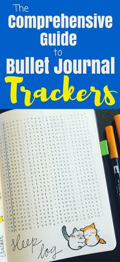 Here's your all time, comprehensive guide to bullet journal trackers! If you want to know how to start a bullet journal, this post is for you! Provides inspiration and information about trackers, along with plenty of ideas (and even other blog posts!) to know about all the tracker layouts for your bujo. #bulletjournal #planner #diy #creative #organized #bulletjournalideas #trackers #bulletjournalcommunity