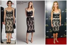 Mary's dress by Collette Dinnigan also seen on Nicole Kidman