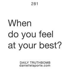 #feelyourbest #truthbomb #lattesandlaughs   Thanks to @Meg M for the #inspiration!