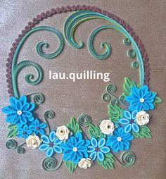 #quilling #fleurs #flower #fleur #flowers #bricolage #artsanat #création #BOUQUET #créations #tableaux #love #art #arts #papier #paperart #creatif #faitmain #handmake #beautiful #happy #bleu #turquoise