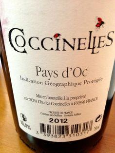 El Alma del Vino.: Château des Coccinelles Syrah 2012.