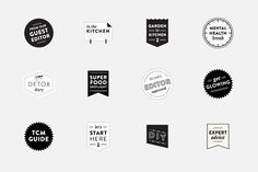 #iconography #typography #design for The Chalkboard by Hum Creative