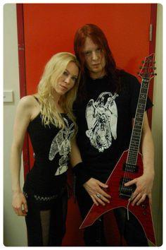 Angela Gossow and Michael Amott - ARCH ENEMY