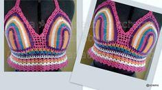 Cropped Multicolor - crochet