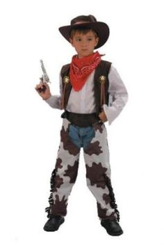 e7956c083ba Cowboy Fancy Dress Costume Age 10-12