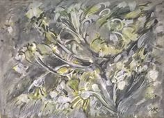 BLOOMING TWIGS by Mihaela Marilena Chitac. Medium: coloured inks on watercolour paper; Watercolor Paper, Bloom, Paintings, Artwork, Artist, Art Work, Work Of Art, Arches Watercolor Paper, Paint