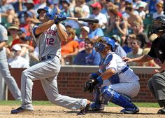 The Mets' Scott Hairston hits a grand slam off Cubs reliever Casey Coleman in the sixth inning.