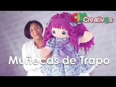 DIY - Muñeca - Doll - Oneida de Uribe - YouTube