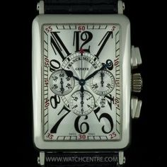 Franck Muller 18k White Gold Silver Dial Long Island Chrono B&P 1200 CC AT. RRP: £27000!!! Our Price: £9750!!! Call or Text Now On: 07885 661 038 and Quote: 13081502 for more info! #FranckMuller #WhiteGold #Silver #LongIsland #Chrono #Chronograph #Gents #