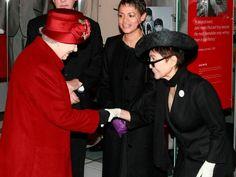 Yoko and The Queen.